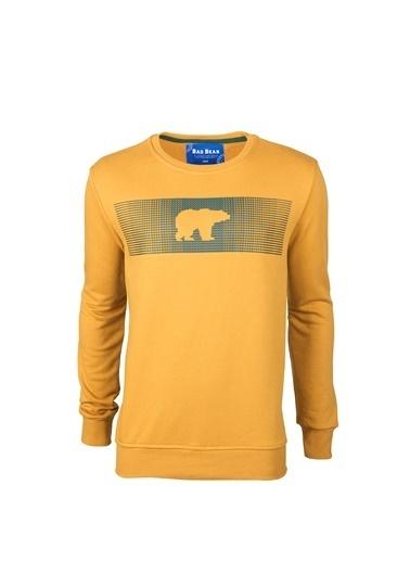 Bad Bear Erkek Sweatshirt Fancy 190212007-Rvn Hardal